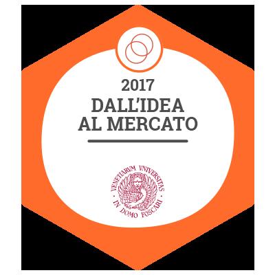 badge image for Dall'idea al mercato: organizzare creatività e conoscenze in forma d'impresa badge