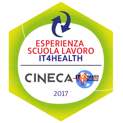 Open Badge Alternanza Scuola Lavoro IT4HEALTH Cineca